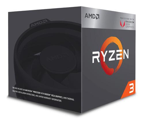 procesador amd ryzen 3 2200g 3.7ghz am4 8 nucleos