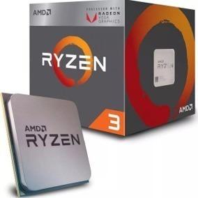 procesador amd ryzen 3 2200g 3.7t/3.5ghz am4 c/video