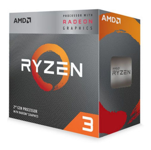 procesador amd ryzen 3 3200g am4 3.6 4.0ghz - signetic