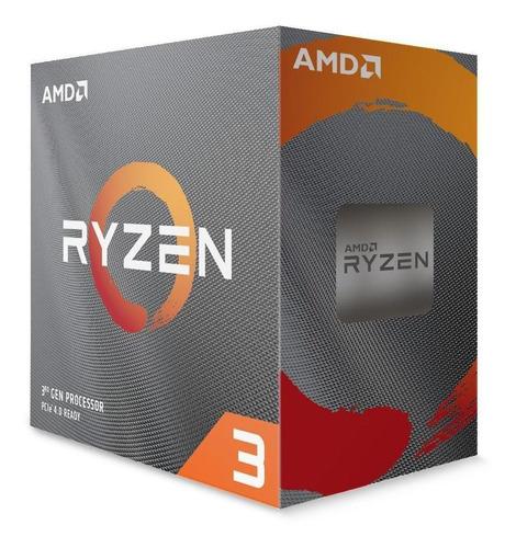 procesador amd ryzen 3 3300x 4 nucleos 3.8ghz socket am4