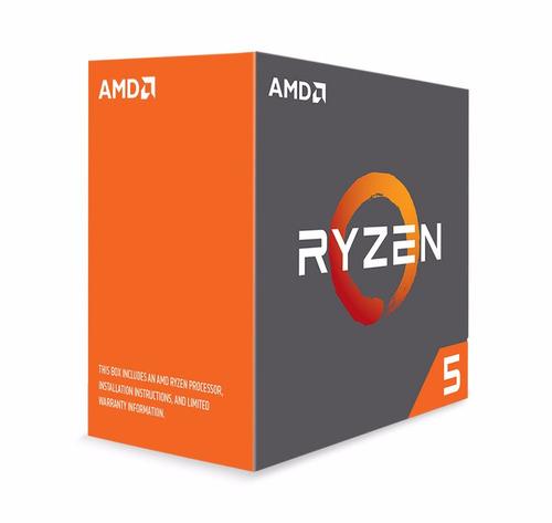 procesador amd ryzen 5 1600x, 3.60ghz, 16mb l3, 6 core, am4
