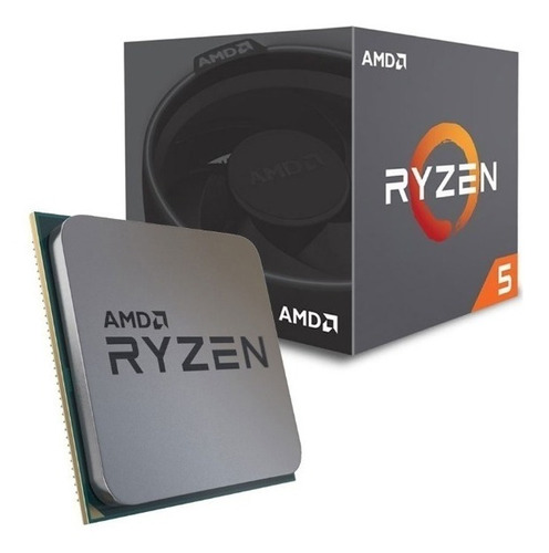 procesador amd ryzen 5 2600 2da gen 6 nucleos 3.9 ghz max