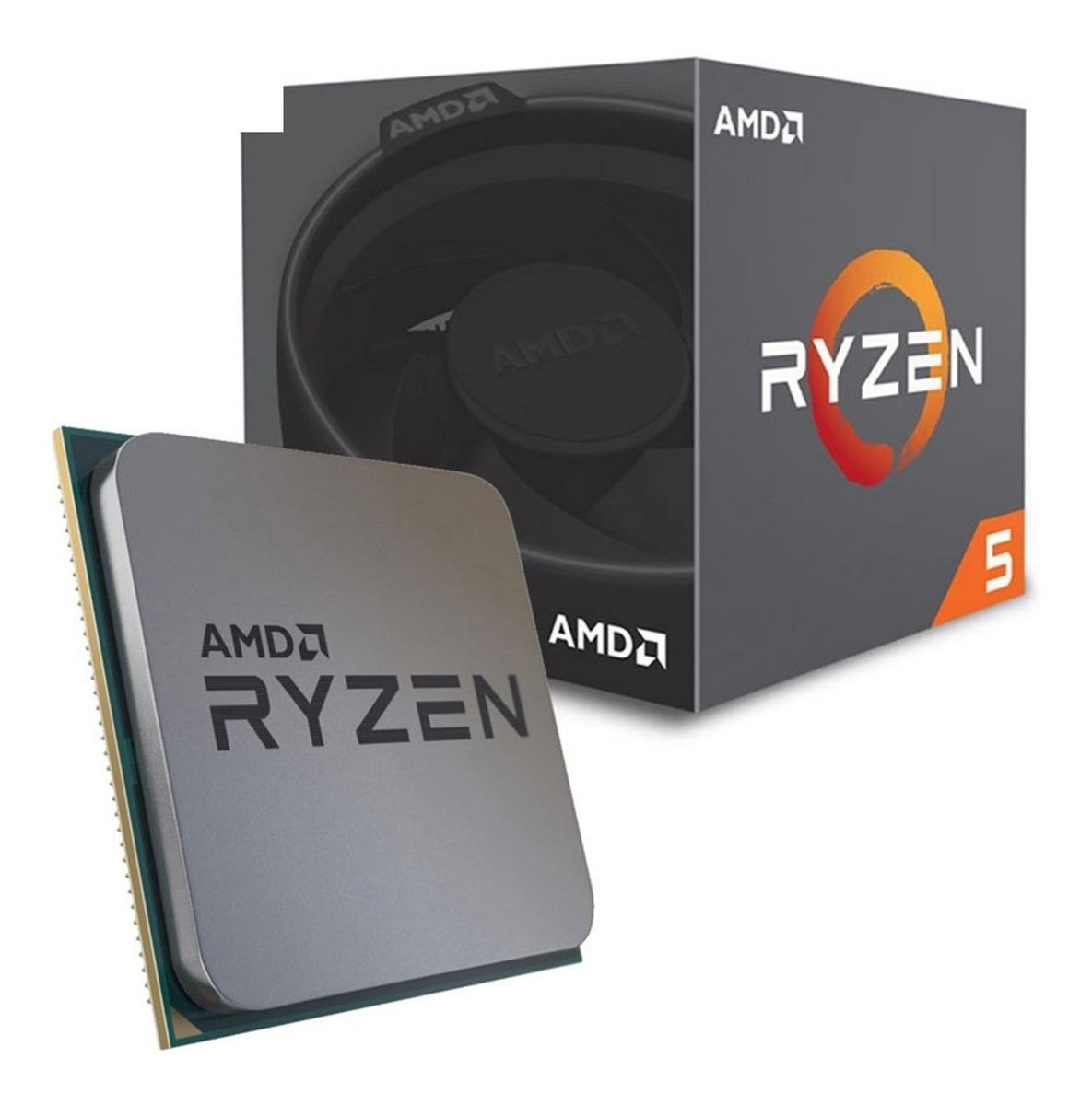 Procesador Amd Ryzen 5 Socket Am4 Turbo 3.9ghz 6 Cores Zen 16mb ...