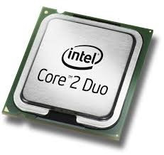 procesador core 2 duo de 2.4 a 2.8ghz