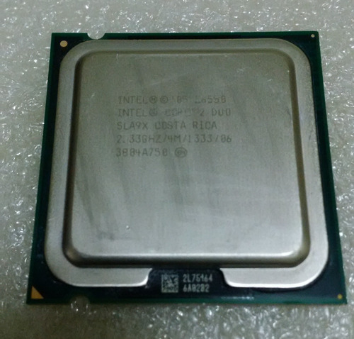 procesador core 2 duo e6550 de 2.33 ghz