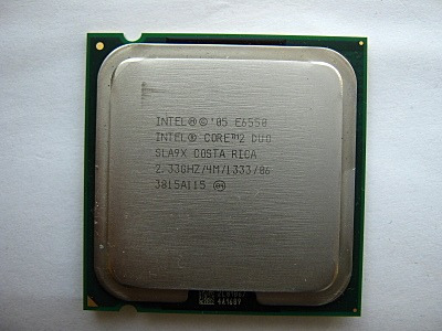 procesador core 2 duo intel 2.33 ghz socket 775 e6550 4mb lg