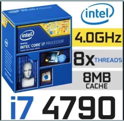 procesador core i7 4790s8nucleo en caja marron+cooler gamer