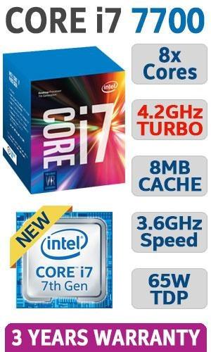 procesador core i7 7700 lga 1151 nuevos de caja !!