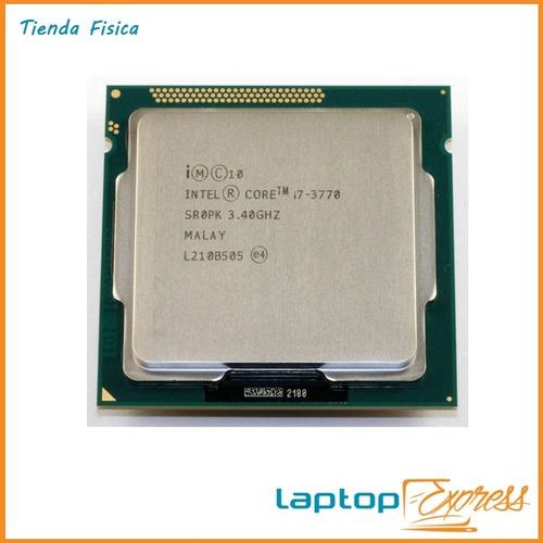 procesador core i7 intel 3770 3ra generacion  nuevo
