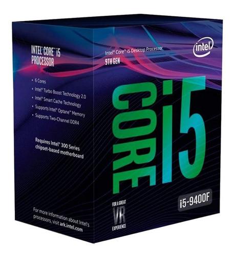 procesador cpu intel core i5 9400f six core 2.9 a 4.1ghz