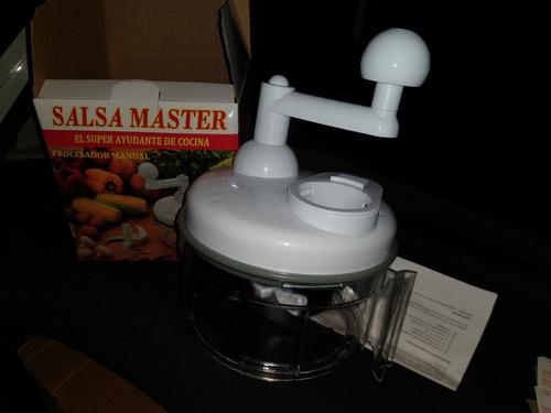 procesador de alimentos - salsa master original