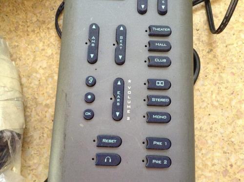 procesador de audio  seenheiser ... usa . func. totales