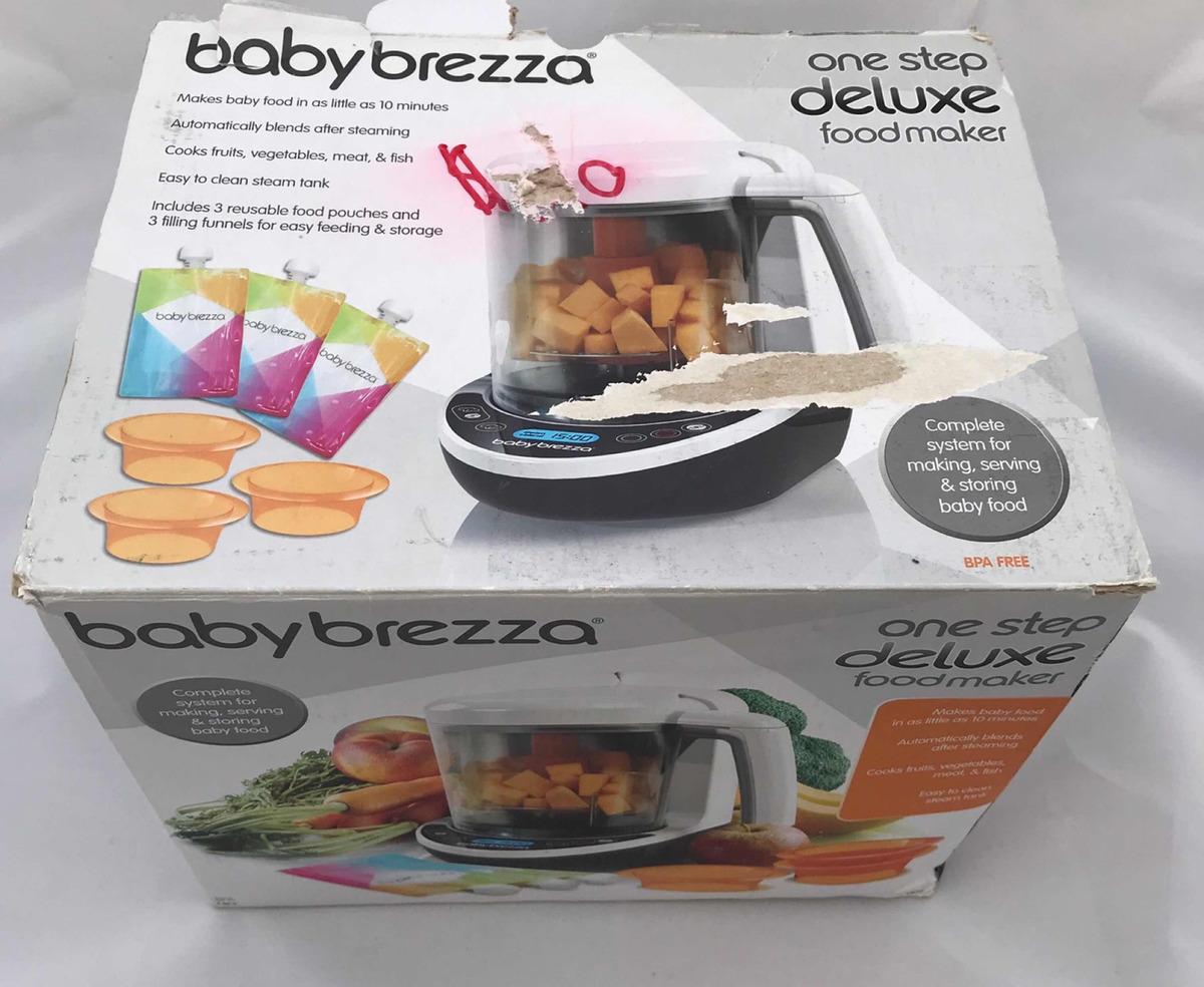 The One Bebe De Luxe procesador de papilla para bebe baby brezza one step de luxe