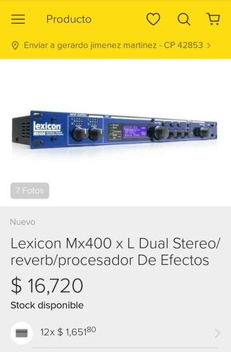 procesador de voz lexicon mx 400