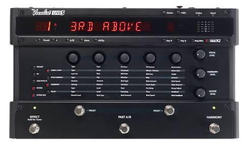 procesador de voz vocalist live 5