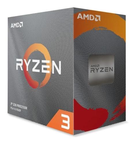 procesador gamer amd ryzen 3 3100 100-100000284box 4 núcleos