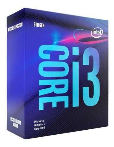procesador gamer intel core i3 9100f 4.2ghz lga 1151 cuotas
