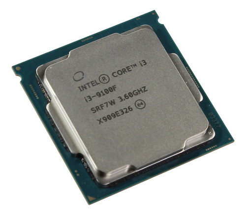 procesador gamer intel core i3 9100f box cooler socket 1151