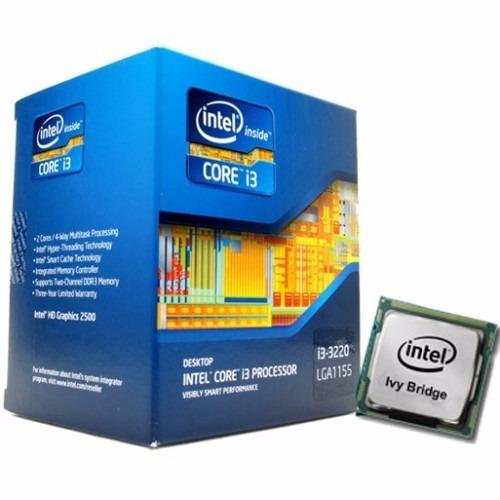 procesador i3 3220 lga1155 intel