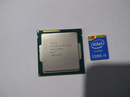 procesador i5 4570 4a generacion + sticker sin disipador