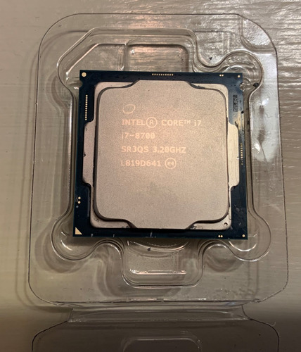 procesador intel 8° generacion i7 8700 3,20 ghz