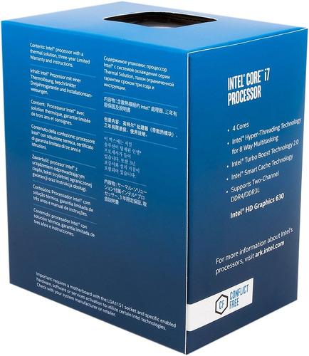 procesador intel bx80677i77700 7th gen core desktop