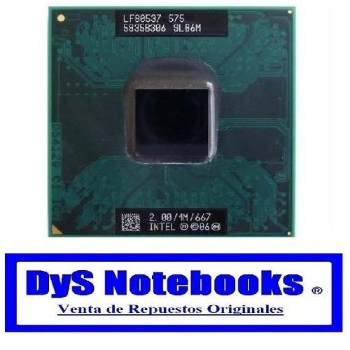 procesador intel celeron 2.0ghz slb6m lg e500 y otros