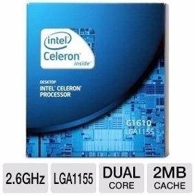procesador intel celeron g1610 2.6ghz nuevo en caja