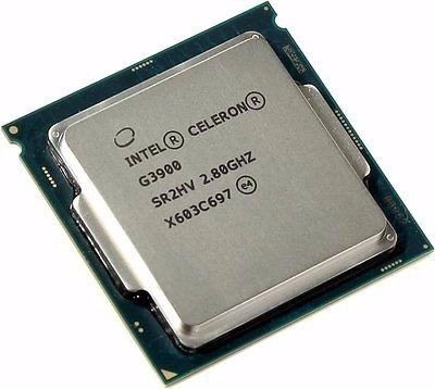procesador intel celeron g3900 2.8ghz 2m socket lga 1151 6th