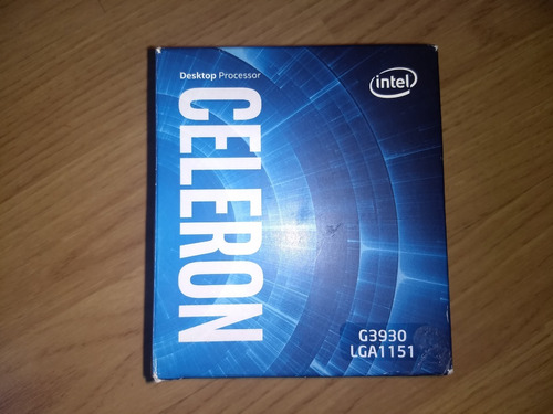 procesador intel celeron g3930 lga 1151