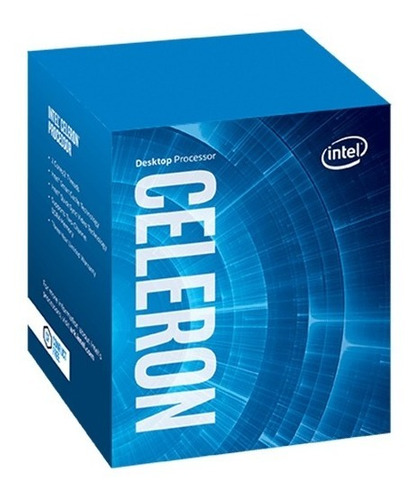 procesador intel celeron g4900 2-core 1151 8va - compuelite
