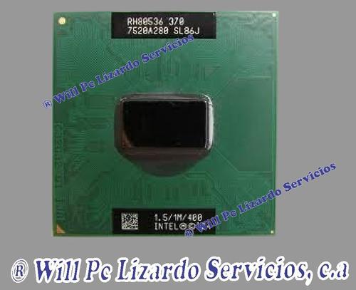 procesador intel celeron m 370 para portatil (sl8mm)