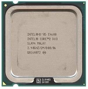 procesador intel core 2 duo e4600 2.4ghz 800 mhz socket 775