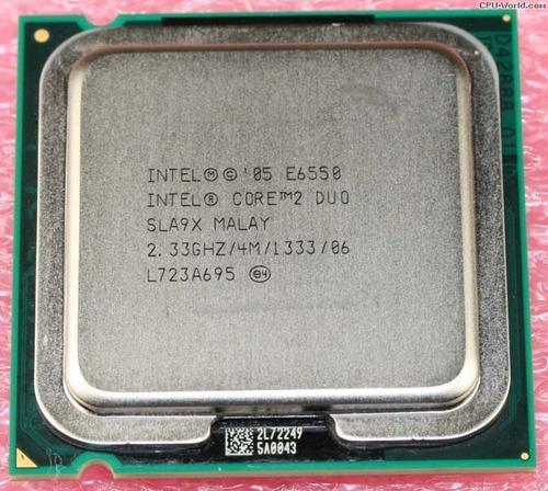 procesador intel core 2 duo e6550 - 2.33 ghz - 4m/1333 s-775