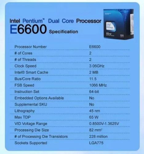 procesador intel core)