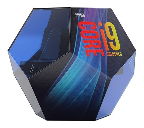 procesador intel core cpu i9 9900k 3.6ghz/ boleta
