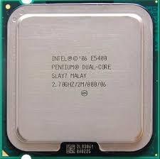 procesador intel core e5400 2.70ghz . funcionando impecable