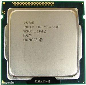 procesador intel core i3 2100 2da gen. dualcore 3.3ghz oem