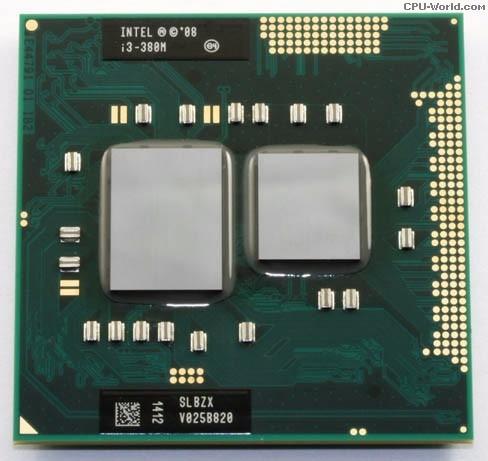 procesador intel core i3-380m processor (3m cache, 2.53 ghz