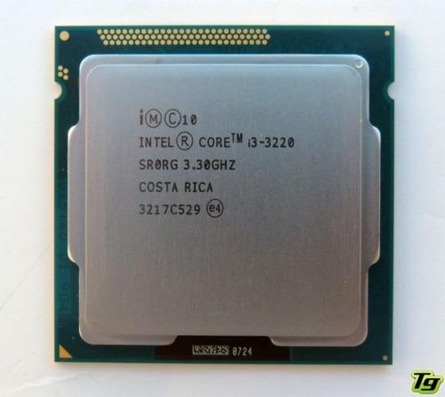 procesador  intel core i3 3era gen 1155 sin cooler