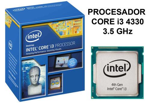 procesador intel core i3-4330 3,5ghz 3mb 4 nucleos