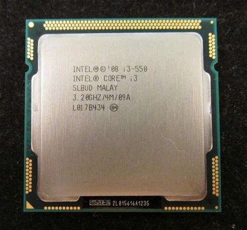 procesador intel core i3-550 3.20ghz lga1156