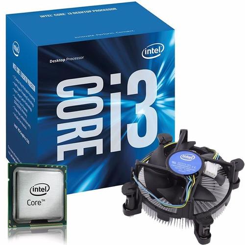 procesador intel core i3 - 6100 lga1151 nuevo!  #somostienda