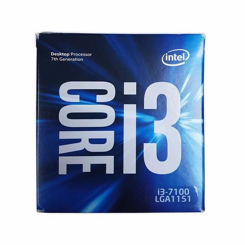 procesador intel core i3 7100 socket 1151 7ma generacion