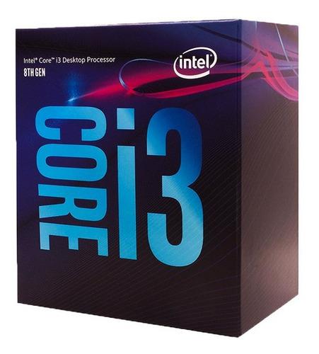procesador intel core i3 8100 lga 1151 8va gen 4nucleos nnet