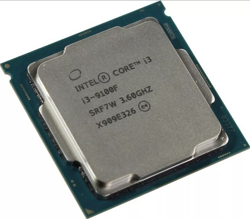 procesador intel core i3 9100f 3.6ghz 4 núcleos - otec