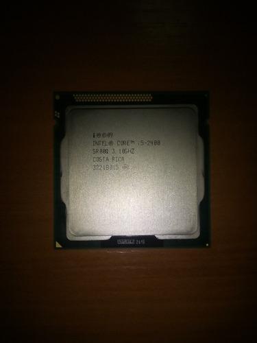 procesador intel core i5 2400 3,10 ghz socket 1155 usado