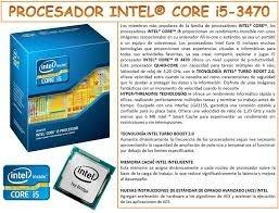 procesador intel core i5-3470s quad-core 3.2ghz 6 mb cache