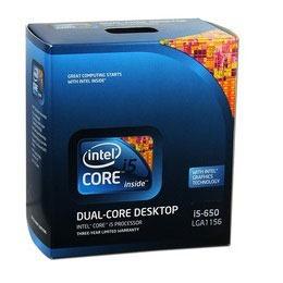 procesador intel core i5 650 3.20 ghz 4mb l3 soc 1156 caja