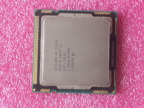 procesador intel core i5-650 3.20ghz